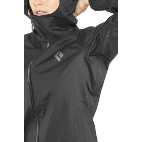 Black Diamond Stormline Stretch Rain Shell Jacket Dam black